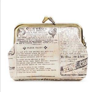 PATRICIA Nash Coin purse 👛 Newspaper Print